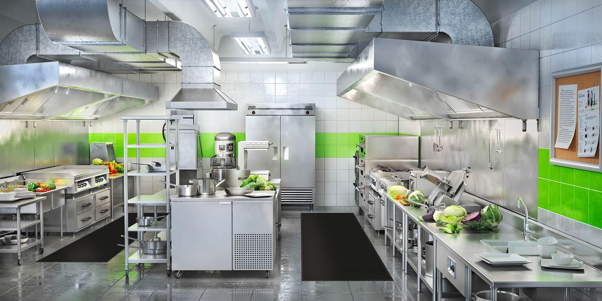 Tapis de cuisine professionnel