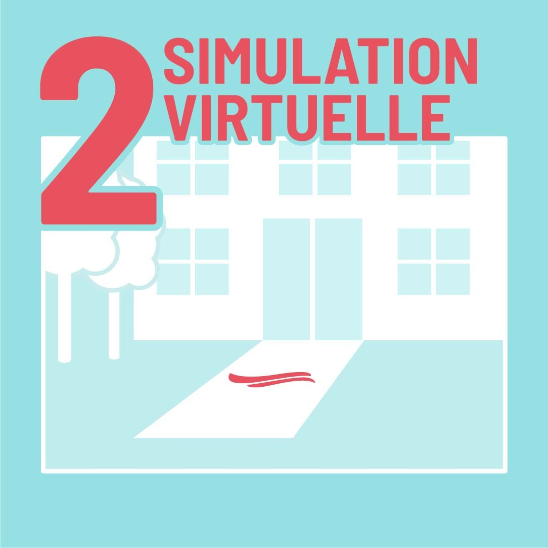 simulation virtuelle de votre tapis