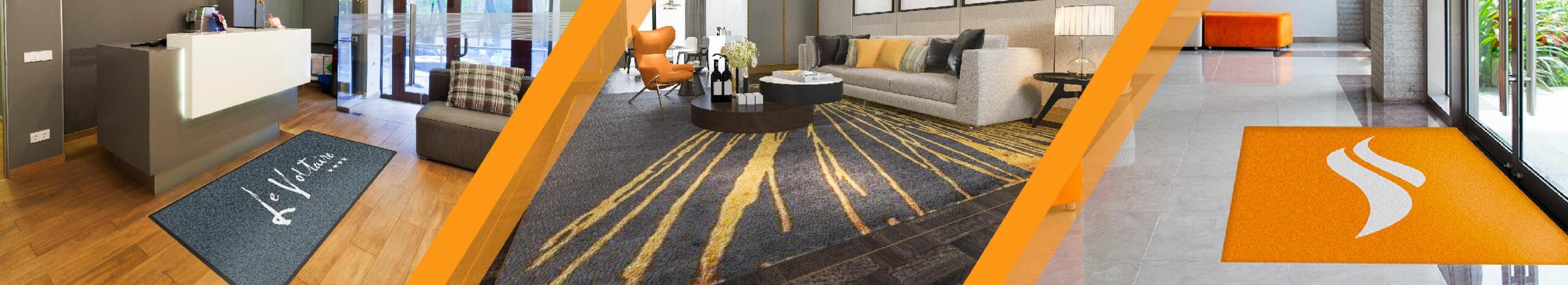 tapis accueil décoration