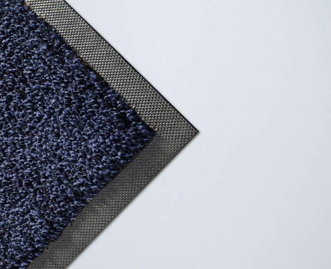 Tapis absorbant bleu